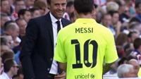 Messi và Enrique ký 'hiệp định hòa bình'