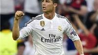 Cristiano Ronaldo lập kỷ lục với hat-trick vào lưới Getafe