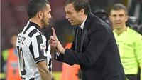 Juventus đại thành công: Từ bộ não Max Allegri tới đôi chân Tevez
