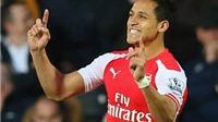 Vượt qua Eden Hazard, Alexis Sanchez được CĐV Premier League vinh danh