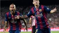 Luis Enrique: 'Bàn thắng của Messi đến từ thiên hà khác'