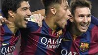 Messi, Suarez và Neymar lại tỏa sáng: Ba giọng ca hoàn mỹ của Barca