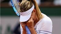 CẬP NHẬT tin tối 1/6: Maria Sharapova bị loại khỏi Roland Garros. Thomas Mueller 'gieo sầu' cho Man United