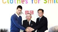 Novak Djokovic: Tôi hay làm từ thiện quần áo cũ