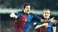 Fan Barca giận dữ phản đối Figo là huyền thoại của đội bóng