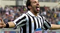 Del Piero sẽ đến Hà Nội vào ngày 13/6