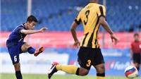 U23 Thái Lan 1-0 U23 Malaysia: Thầy trò Ong Kim Swee gần như bị loại