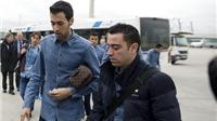 Busquets sẽ thay Xavi đeo băng đội trưởng Barca?
