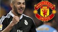 Man United đã gặp người đại diện của Karim Benzema