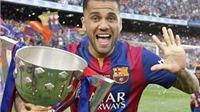 Dani Alves bất ngờ nhắc đến khả năng gia nhập AC Milan