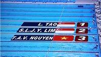 SEA Games 28: Không phải nội dung sở trường, Ánh Viên giành HCĐ 50m bơi ngửa nữ