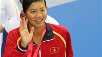 BẢNG VÀNG thành tích và kỷ lục của Ánh Viên tại SEA Games 2015