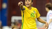 World Cup nữ 2015: Marta - huyền thoại không danh hiệu?