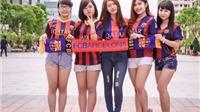 Báo Tây Ban Nha phát sốt vì màn ăn mừng của CĐV Barca tại Việt Nam