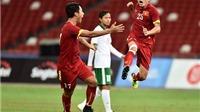 Bàn thắng Huy Toàn bảo vệ cho triết lý Miura ở U23 Việt Nam