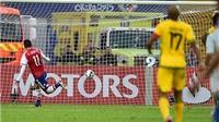 Paraguay 1-0 Jamaica: Thủ môn Jamaica 'biếu' chiến thắng cho đối thủ