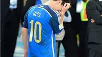 Messi: 100 trận với Argentina, rất nhiều nước mắt và không một danh hiệu