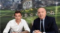 CHÍNH THỨC: Mandzukic ký hợp đồng 4 năm với Juventus