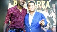Bầu cử Chủ tịch Barca: Joan Laporta và lá bài mang tên Eric Abidal