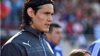 Bố đâm chết người trong tai nạn xe hơi, Edinson Cavani có thể nghỉ trận Tứ kết với Chile