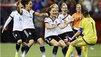 ĐT nữ Đức giành chiến thắng nghẹt thở 5-4 trên chấm 11m trước Pháp