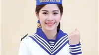 Ngắm hoa khôi Nguyễn Thị Lệ Nam Em: đẹp tinh khôi trong trang phục hải quân