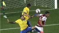 Brazil 1-1 Paraguay (penalty: 3-4): Thầy trò Carlos Dunga 'chết' ở loạt đá luân lưu