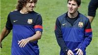 Puyol từng âm mưu cho Messi 'ăn đòn'