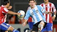 Link xem trực tiếp trận Argentina - Paraguay