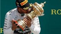 GP Anh Quốc: Lewis Hamilton nhất chặng lần thứ 5 từ đầu mùa