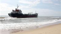 Chủ tàu chở 3.000 tấn gạo tố bị 'hôi của' khi mắc cạn trên biển Bình Thuận