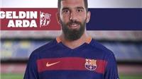 CHÍNH THỨC: Barcelona ký hợp đồng 5 năm, phí chuyển nhượng 34 triệu euro với Arda Turan