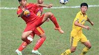 VCK U17 Quốc gia 2015: SLNA gây thất vọng