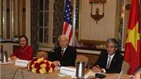 Tổng Bí thư Nguyễn Phú Trọng gặp gỡ nhóm trí thức Đại học Harvard