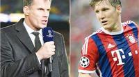 Jamie Carragher: 'Schweinsteiger đã hết thời, fan Man United chả hiểu gì về chiến thuật'