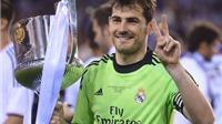 CHÙM ẢNH: Những khoảnh khắc đáng nhớ nhất của Iker Casillas tại Real Madrid