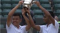 Lý Hoàng Nam VÔ ĐỊCH đôi nam trẻ Wimbledon 2015