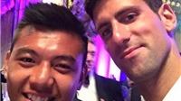 CHÙM ẢNH: Lý Hoàng Nam hân hoan bên Djokovic trong đại tiệc Wimbledon 2015