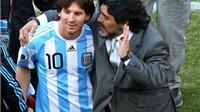 Maradona: 'Đừng có cưng chiều Messi nữa! Cứ về tuyển là cậu ta chẳng bắt nạt được ai'