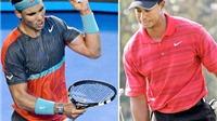 Rafael Nadal và Tiger Woods: Lời nguyền cho những tài năng sớm nở?