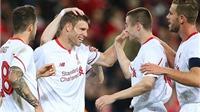 James Milner lập công, Liverpool giành chiến thắng 2-1 trước Brisbane Roar
