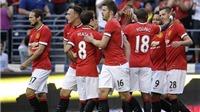 Club America 0-1 Man United: Schneiderlin ghi bàn, Man United thắng trận đầu tiên ở ICC