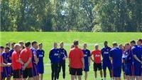 CHÙM ẢNH: Man United miệt mài tập luyện trên đất Mỹ