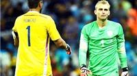 Man United: Romero và Cillessen, nên chọn ai?