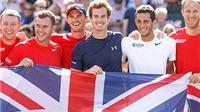 Tứ kết Davis Cup 2015: Murray lại làm nên lịch sử