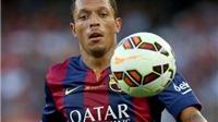 Roma đạt được thỏa thuận mua Adriano của Barcelona