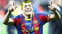 Adriano gia nhập AS Roma: Tạm biệt cầu thủ 'nhiều vai' nhất của Barca!