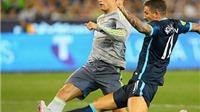 Man City 1-4 Real Madrid: Đẳng cấp của Man City vẫn kém Real một bậc
