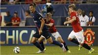 ĐIỂM NHẤN Man United 0-2 PSG: Ibra phù hợp với 'Quỷ đỏ'. Blind không thể đá trung vệ
