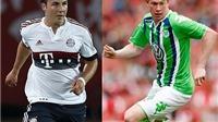 Wolfsburg từ chối đề nghị đổi Goetze lấy De Bruyne của Bayern